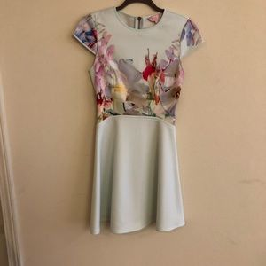 Ted Baker mint dress! Size 1